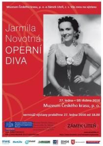 Jarmila Novotna_Beroun_plakat